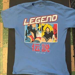 Legends screen Tee